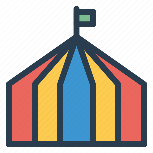 camp, circus, shelter, tent icon