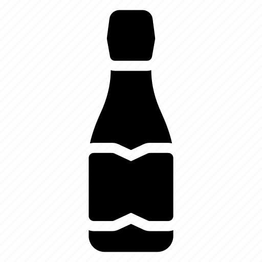 alcohol, beer, bottle, water icon
