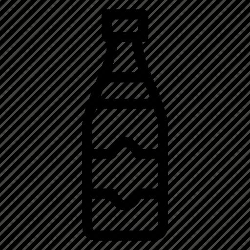 beer, bottle, water, wine icon