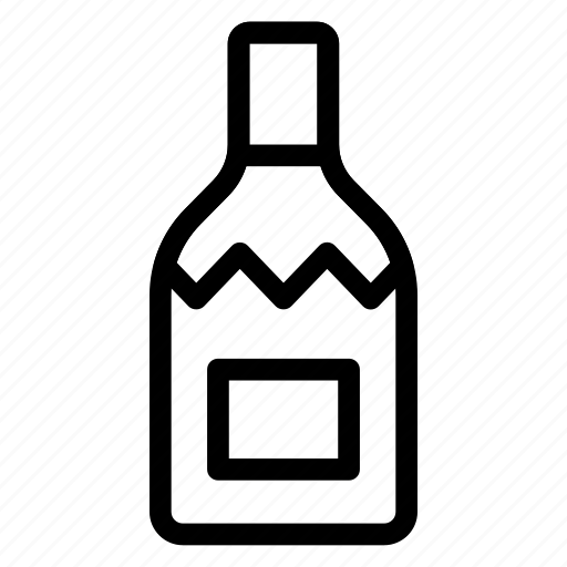 beer, bottle, champagne, wine icon