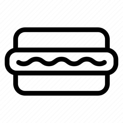 burger, eat, foods, snack icon