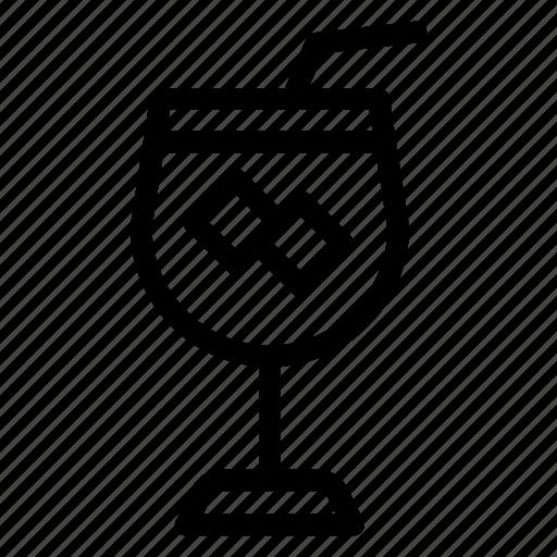 drink, glass, juice, shake icon