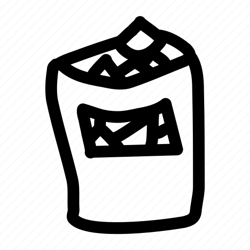bag, chips, potato chips, snack, tortilla chips icon