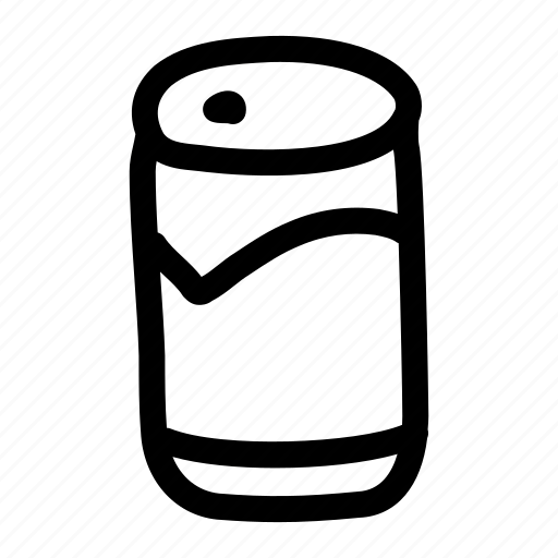 beer, beverage, can, drink, soda icon