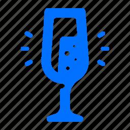 beverage, champagne, drink icon