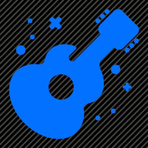 guitar, instrument, music, sound icon