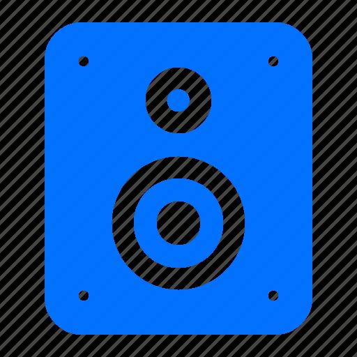 audio, electronic, sound, speaker icon