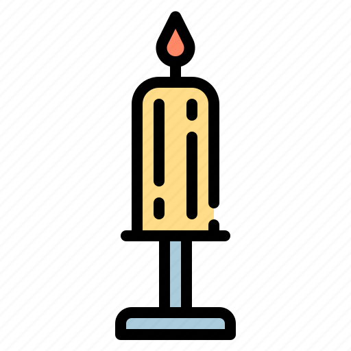 candle, celebration, disco, light, party icon