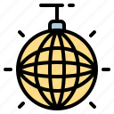 celebration, disco, discoball, party icon