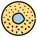 celebration, disco, donut, party icon