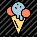 celebration, dessert, disco, ice cream, party icon