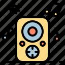 celebration, disco, music, party, speaker icon