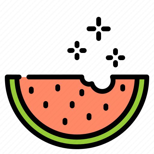 celebration, disco, fruit, party, watermelon icon