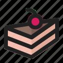 bakery, birthday, cake, cream, delicious, dessert, sweet icon