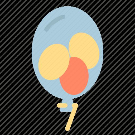 balloons, celebration, disco, party icon