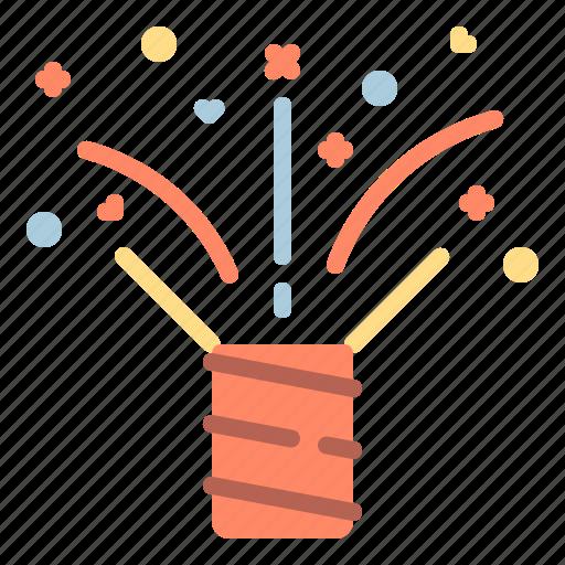 Celebration, disco, firework, party icon - Download on Iconfinder