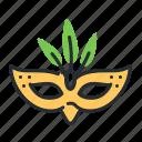 carnival, mask, masquerade, party