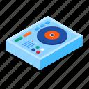 dj, mixer, controller, music