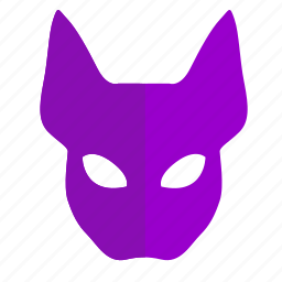 cat, face, kitty, mask, skin, woman icon