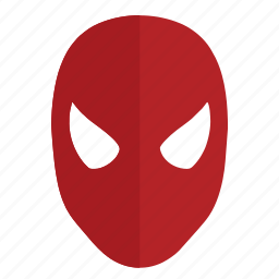 hero, man, mask, party, spiderman icon