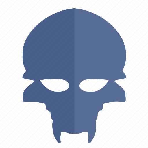 face, head, mask, party, skull icon