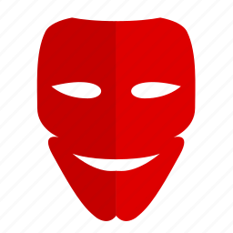 face, hero, mask, party, victory icon