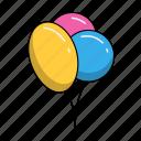 birthday, holiday, party, celebration, balloons