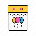 birthday, party, celebration, event, day, calendar, date icon
