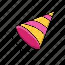 birthday, holiday, party, celebration, hat
