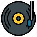 dj, mixing, multimedia, music, musicdisc, vynil icon