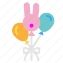 balloon, event, festive, party icon