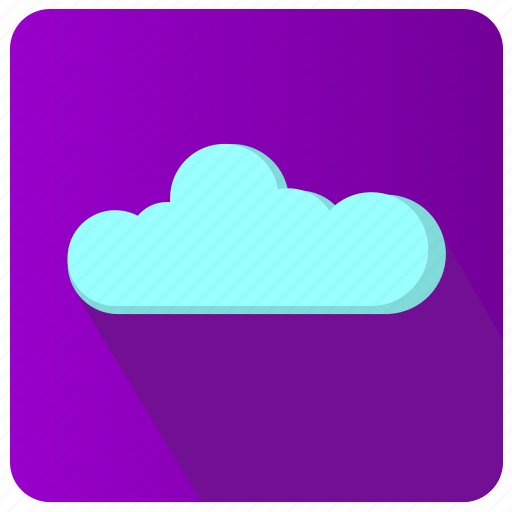 app, cloud, rain, weather icon