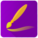 app, brush, draw, picture, program icon