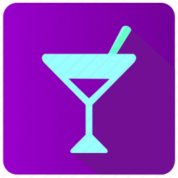 alcohol, app, drink, martini, party icon