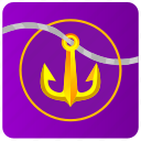 anchor, app, salor, sea, theme icon