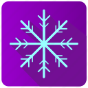 app, frost, snow, winter icon