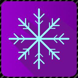 app, frost, snow, winter icon