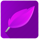 app, editor, literature, write icon