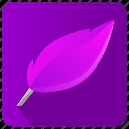 app, editor, literature, write icon