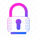 lock, padlock, password, protection, security icon