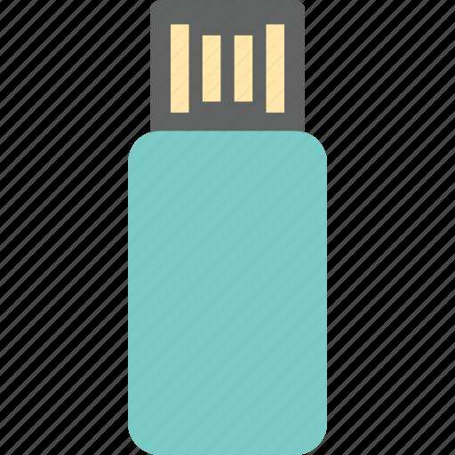 computer, storage, usb icon