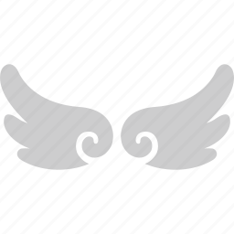 angel, infant, party, wing icon