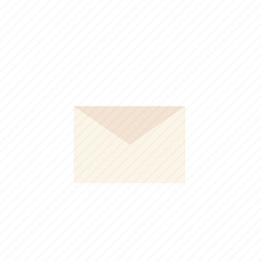 business, mail, pastel icon