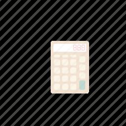 business, calculator, pastel, plus icon