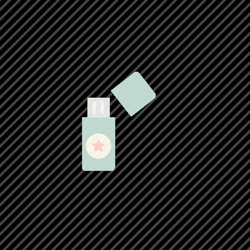 business, flash drive, pastel, usb icon
