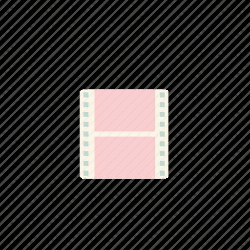 business, flim, pastel icon