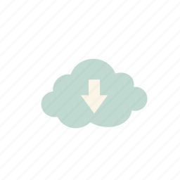 business, cloud, upload icon