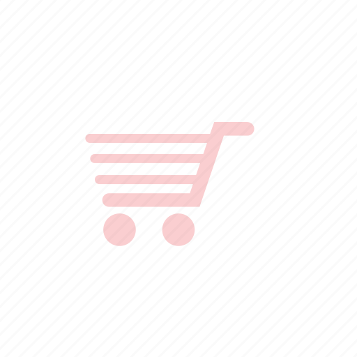 business, cart, market, pastel, shoping icon