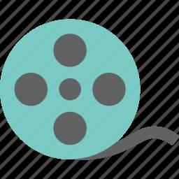 film, filming, media, movie, play, screening, video icon