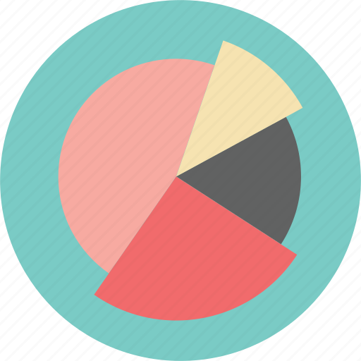 banking, chart, commerce, financial, graph, pie chart, presentation icon